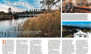 Africa Media Journalist Vanja Lakic in Country Life – The Sole of Great Brak