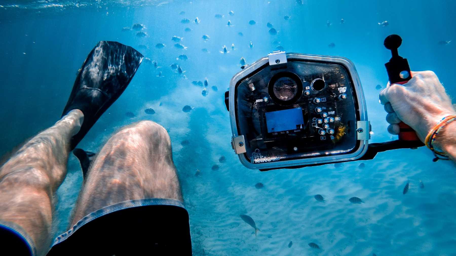 Basic underwater photography camera settings
